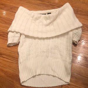 Moda International cowl neck sweater